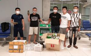 5 công dân Việt Nam đang bị kẹt tại sân bay ở Bangkok