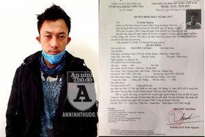 Cướp giật dây chuyền, đối tượng bị bắt giữ khi trốn truy nã tại Hà Nội