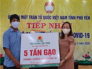 Tập đoàn Lộc Trời hỗ trợ 137 tấn gạo cho các khu cách ly