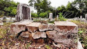 Nghệ An: Thiếu vốn tôn tạo, nghĩa trang liệt sĩ xuống cấp