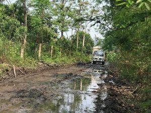 Nhiều tuyến đường ở huyện miền núi Yên Thế xuống cấp nghiêm trọng