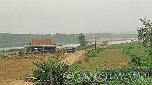 Huyện Tân Kỳ - Nghệ An: 'Loạn' hoạt động khai thác và kinh doanh cát sỏi tại xã Nghĩa Đồng