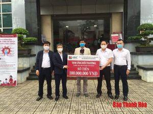 ABIC Thanh Hóa tạm ứng 100 triệu bồi thường tai nạn dân sự ô tô cho khách hàng