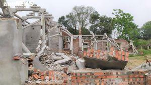 Dân tự ý phá dỡ chùa triệu USD xây trái phép trong khu di tích: Công an vào cuộc