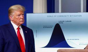Ông Trump: Hãy nhìn vào con số, nước Mỹ sắp trở lại bình thường