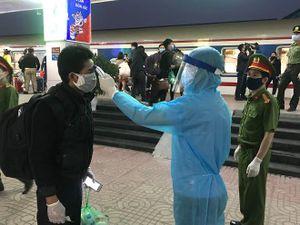 Quyết liệt chặn dịch Covid 19 tại Ga Hà Nội