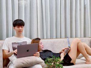 Ngày cách ly thứ 10: Á hậu Thúy Vân công khai bạn trai, fans trầm trồ dung mạo