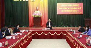 Bí thư Hà Nội Vương Đình Huệ chỉ đạo xử lý dứt điểm 8 vụ việc phức tạp tại huyện Ba Vì