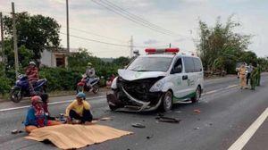 Nam thanh niên thiệt mạng sau khi đâm phải xe cứu thương
