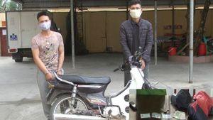 Cặp đôi nghiện ma túy, cướp giật tài sản