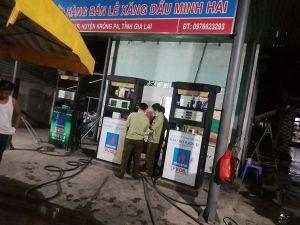 Gia Lai: Bán xăng cao hơn giá niêm yết, 1 doanh nghiệp bị phạt 40 triệu đồng