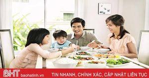 Văn hóa trong bữa ăn gia đình Việt