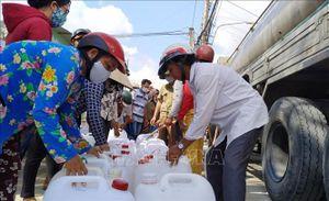 'Giải hạn' nước sinh hoạt cho vùng hạn mặn Gò Công Tây