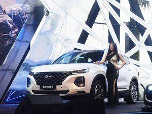 Giá Hyundai Santa Fe tại thị trường Việt Nam trong tháng 4
