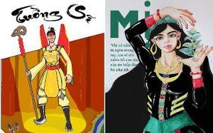 Sinh viên ĐH FPT sáng tạo từ văn hóa dân tộc trong từng bản thiết kế 'siêu anh hùng'