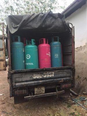 Bắc Giang: Phát hiện cơ sở sang, chiết gas trái phép