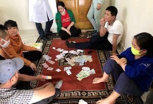 Công an TP Uông Bí triệt phá nhiều vụ đánh bạc