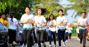 Khảo sát đường chạy giải 'Mekong delta marathon' Hậu Giang 2020