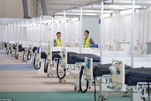 Bệnh viện công suất 4.000 giường chỉ có thể chữa cho 40 người