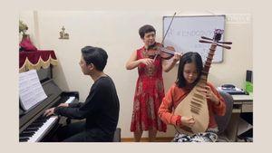 Bật cười với clip ở nhà tránh dịch của các nghệ sĩ Nhà hát Nhạc Vũ kịch Việt Nam