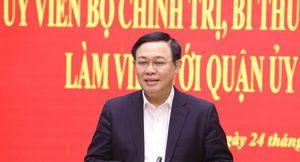 Quốc hội sẽ miễn nhiệm chức Phó thủ tướng với ông Vương Đình Huệ