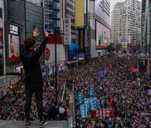 Trung Quốc truy tố người nước ngoài đầu tiên can dự vào Hong Kong
