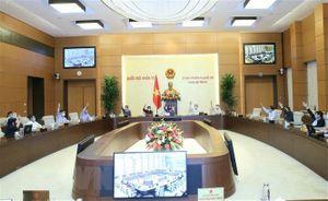 Ủy ban Thường vụ Quốc hội phê chuẩn kiện toàn Ban thư ký Quốc hội