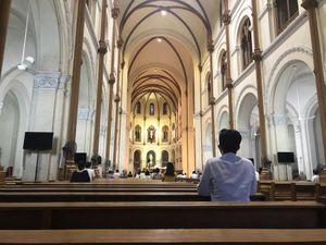 Tổng giáo phận Sài Gòn vẫn chưa cử hành thánh lễ cộng đồng