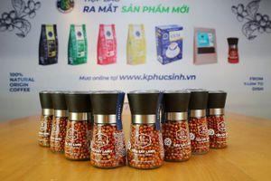 Phúc Sinh Group ra mắt sản phẩm mới trà, cà phê, tiêu sấy