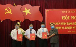 Công bố quyết định của Ban Bí thư về công tác cán bộ tỉnh Đắk Nông