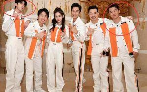 Cư dân mạng bất ngờ phát hiện khi Thái Từ Khôn và Trịnh Khải không đứng ở vị trí trung tâm trong show Keep Running