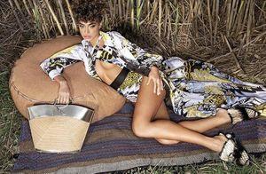 Nhan sắc sexy hoang dại của nàng mẫu Israel lên bìa Harper's Bazaar Việt Nam