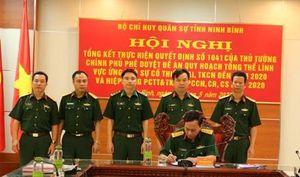 Bộ CHQS tỉnh tổ chức hiệp đồng phòng chống thiên tai, cứu nạn, cháy nổ năm 2020
