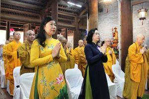 Lãnh đạo thành phố Hà Nội dự Đại lễ Phật đản 2020 tại chùa Bà Đá