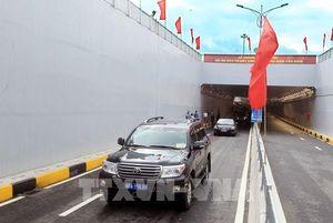 Thông xe kỹ thuật tuyến đường kết nối thành phố Hải Phòng với huyện Thủy Nguyên