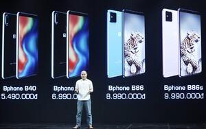 Smartphone không phím bấm Bphone B86 chính thức ra mắt, giá 8,99 triệu đồng