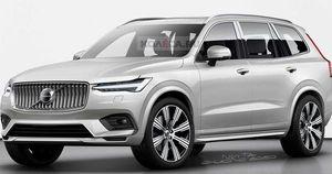 Lộ thêm thông tin về Volvo XC100 - SUV chủ lực đấu BMW X7