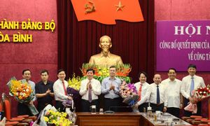 Tin điều động, bổ nhiệm lãnh đạo mới tại Hòa Bình, Bình Định