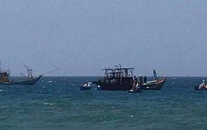 Cháy tàu cá của ngư dân khi đang neo đậu
