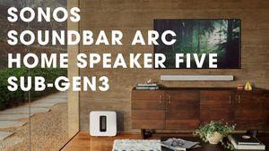 Sonos ra mắt soundbar Arc thông minh 11 driver, có Dolby Atmos, phát âm 270 độ