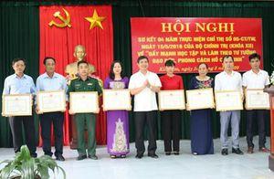 Huyện ủy Kim Sơn sơ kết 4 năm thực hiện Chỉ thị 05/TC-TƯ của Bộ Chính trị