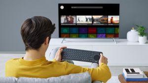 Cách sử dụng smartphone làm bàn phím cho TV thông minh