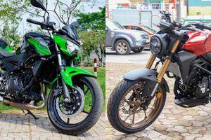 Tầm 150 triệu đồng chọn Honda CB300R hay Kawasaki Z400