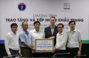Ủng hộ Bộ Y tế 88.000 khẩu trang cho hoạt động chống dịch bệnh Covid-19