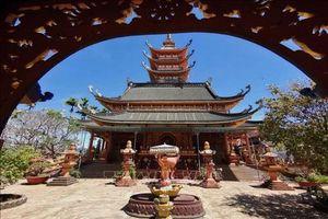 Khám phá nét đẹp cổ kính mà hiện đại của chùa Bửu Minh, Gia Lai