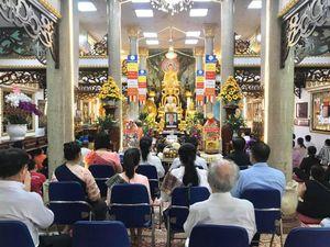 Chùa Phổ Minh làm lễ tưởng niệm một vị tướng Lào