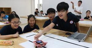 Chùm ảnh: Học sinh trường Nhật học tập, rèn luyện như thế nào?