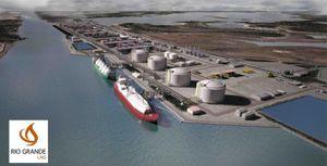 Hàng loạt dự án LNG tại Mỹ bị dừng