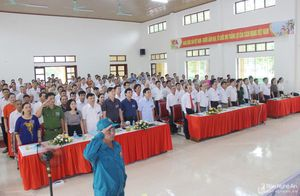 Đại hội đại biểu Đảng bộ xã Hưng Thông (Hưng Nguyên) nhiệm kỳ 2020 - 2025