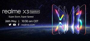 Realme X3 SuperZoom có màn hình 120Hz, Snapdragon 855+, ra mắt 26/5